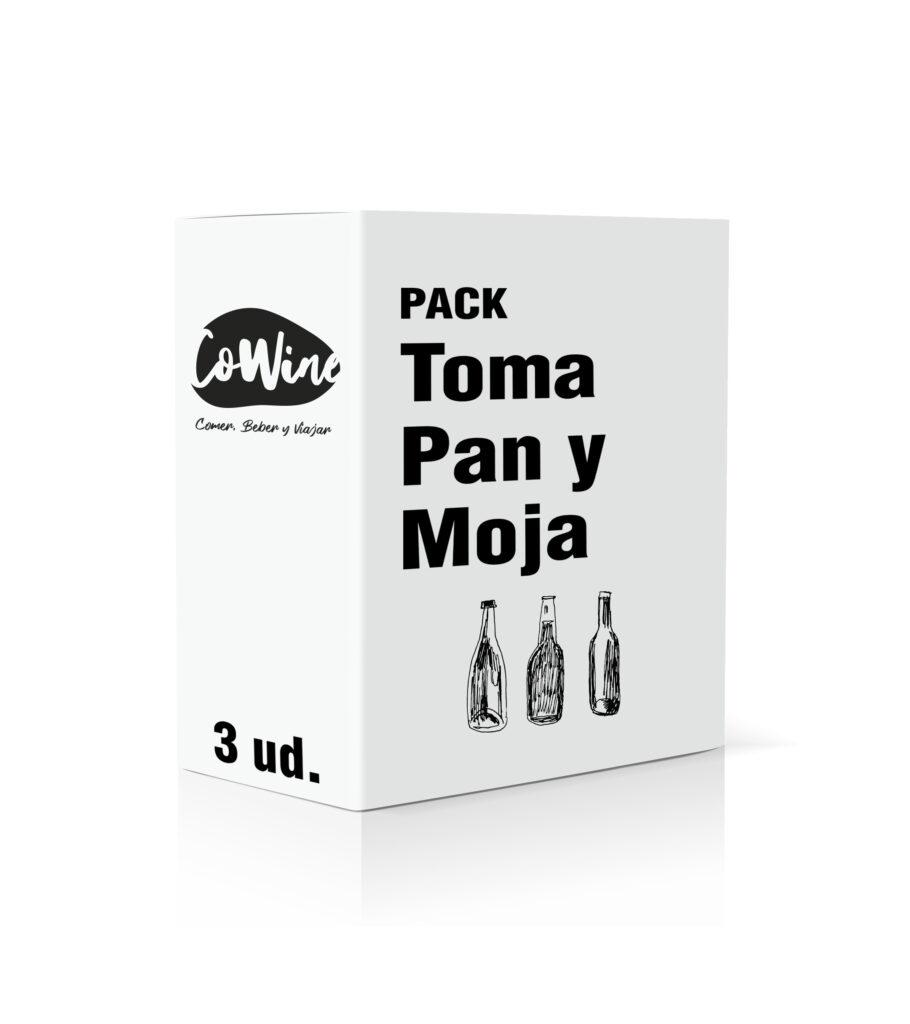 Pack Toma Pan y Moja. Cowine